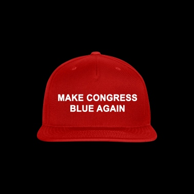 MAKE CONGRESS BLUE AGAIN - Snap-back Baseball Cap