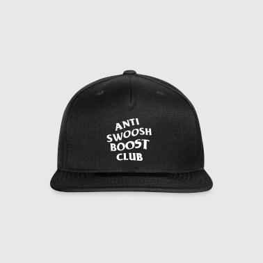 Anti Swoosh Boost Club - Snap-back Baseball Cap