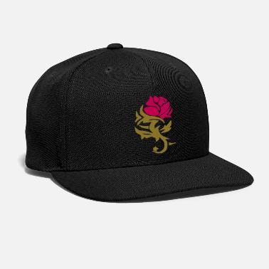 Rose Rose Design - Snap-back Baseball Cap