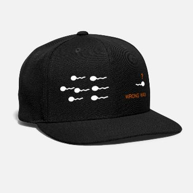 Way To Retrieve wrong way - Snapback Cap