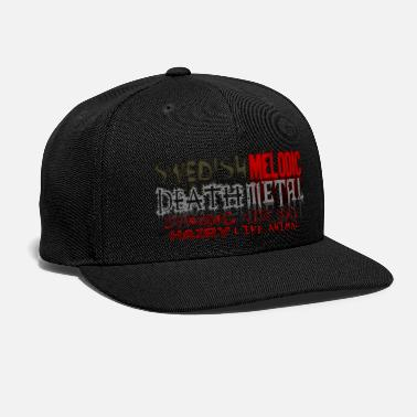 Death Metal SWEDISH MELODIC DEATH METAL - Snapback Cap