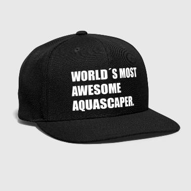 Grandpa Aquascaping Aquascape Aquarium Gift Fish - Snap-back Baseball Cap