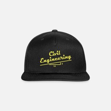 bc73de75cbf Civil Engineer Slope Baseball Cap