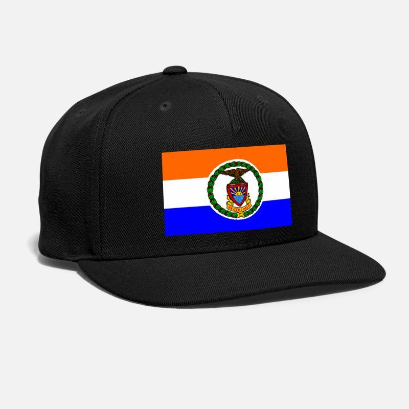 531fc30f3d3 Bronx Caps - bronx flag - Snapback Cap black
