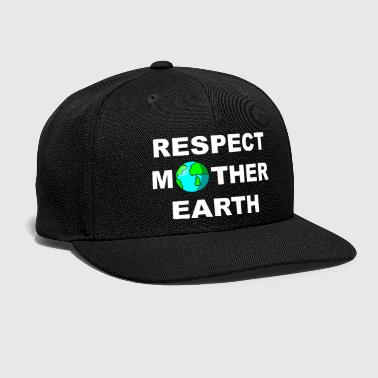 Mother Earth Earth Day Mother Earth Nature Environment Gift - Snap-back Baseball Cap