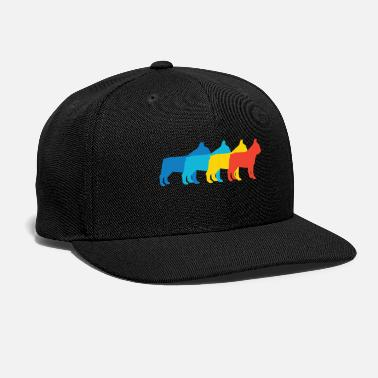 Bulldog French Bulldog Pop Art - Snapback Cap