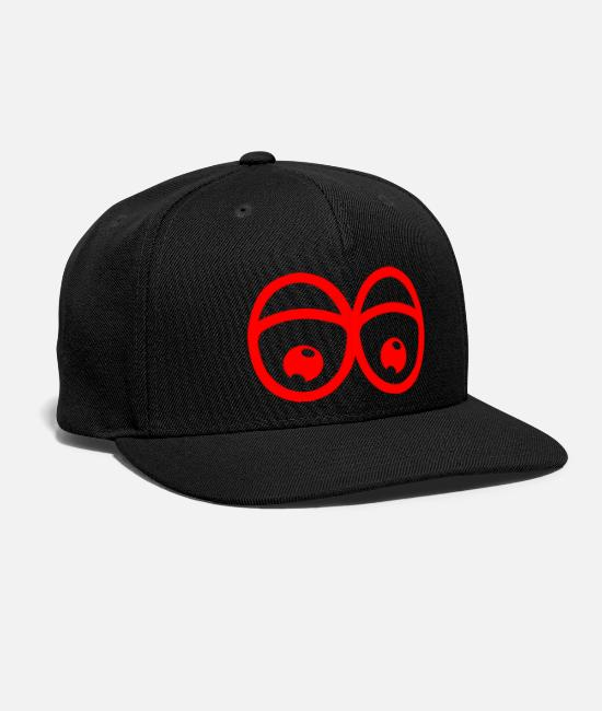 Farewell Caps & Hats - far in the eye - Snapback Cap black