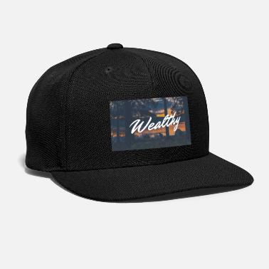Wealthy Wealthy Inc. - Snap-back Baseball Cap