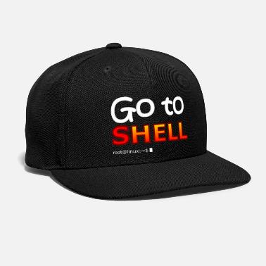 Shell Go to shell (linux) - Snapback Cap