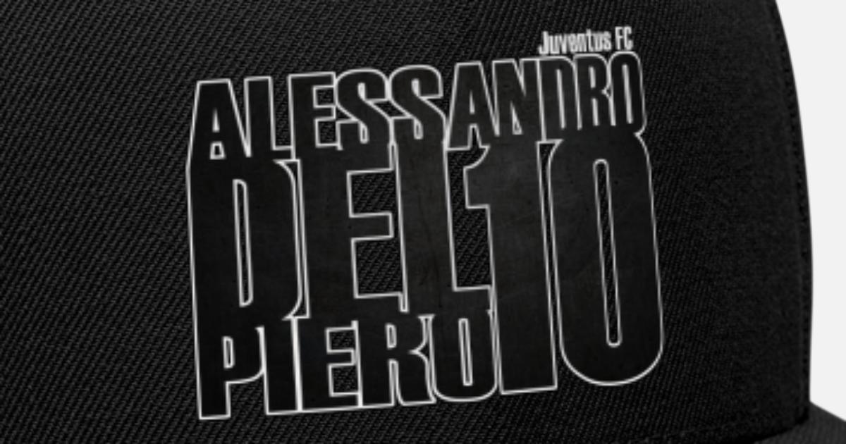 79929e53564 Del Piero Juventus club legend Juve football club Snapback Cap ...