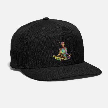 Meditation Meditating Woman - Snap-back Baseball Cap