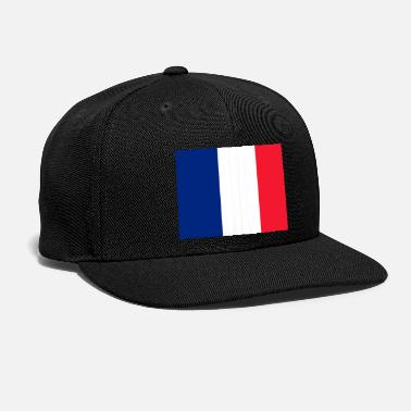 French Flag Saint Martin (French part) Flag - Snapback Cap