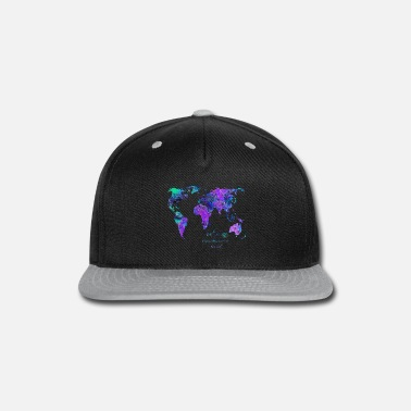 Map World map - Snapback Cap