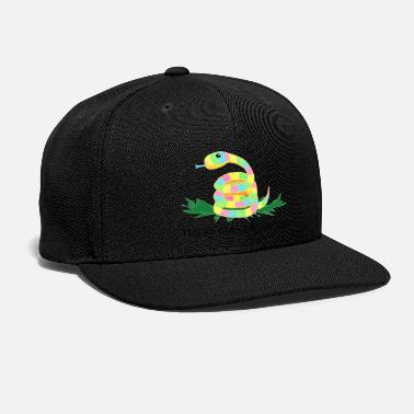 There Make Be Snakes - Snapback Cap
