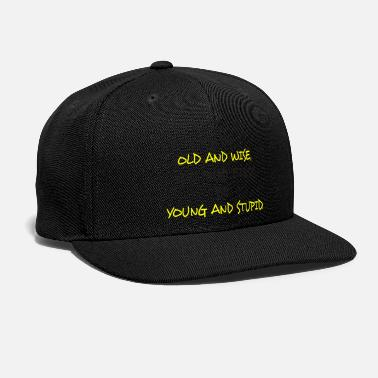 Young Money young and stupid - Snapback Cap 620a342ae60