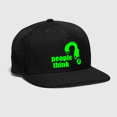 People people think - Snap-back Baseball Cap