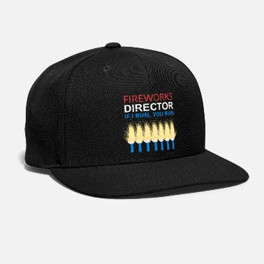Explosion 4th of July Fireworks - Snapback Cap