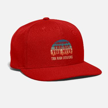 Grandpa Grandpa The Man The Myth The Bad Influence - Snapback Cap