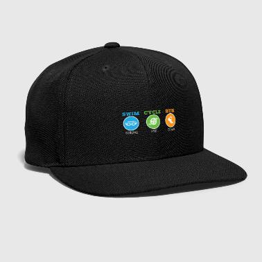 Medal Triathlon - Snap-back Baseball Cap