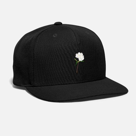 Botany Caps - White Future Botanical - Snapback Cap black