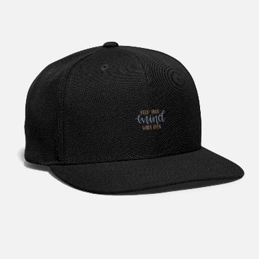 Keep your mind wide open - Snap-back Baseball Cap