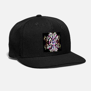 Neon Neon plays of light, Neon Lichtspiele - Snapback Cap