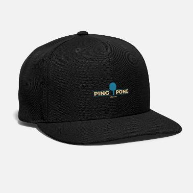Table Tennis Paddle table tennis paddle - Snapback Cap