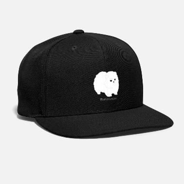 Dog Breed Pomeranian Dog. Favorite Dog breed. - Snap-back Baseball Cap