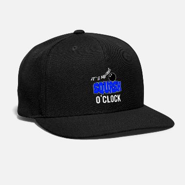 Squash it's always squash o'clock - Snap-back Baseball Cap