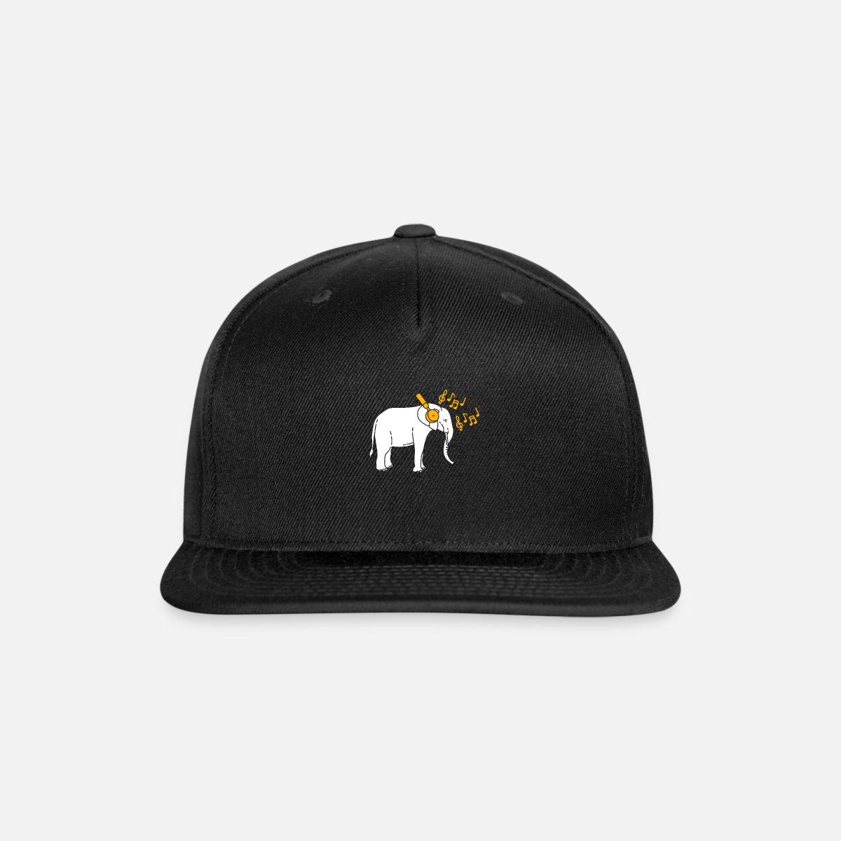 0d9154a733835 Elephant DJ Snapback Cap