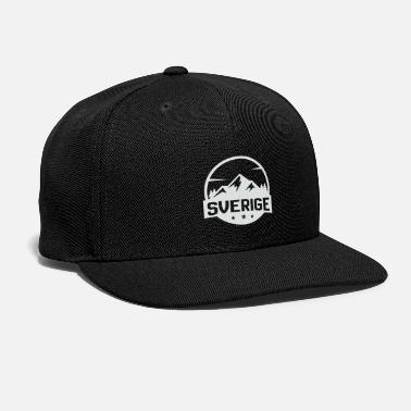 Outdoor sweden mountains nature - Snapback Cap
