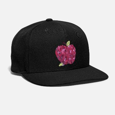 Apple Little Worm Big Apple - Snapback Cap