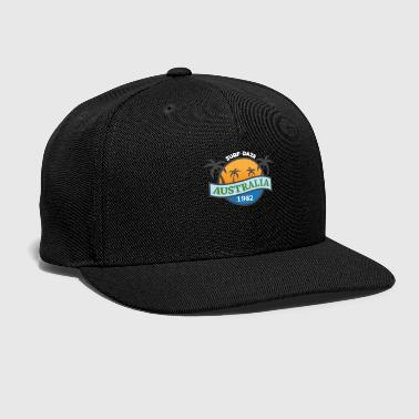 Exit Surf Australia Surfing Gift Present Idea - Snap-back Baseball Cap