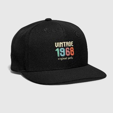 Turn On Vintage Retro 1968 50 Years Old 50th Birthday Gift - Snap-back Baseball Cap