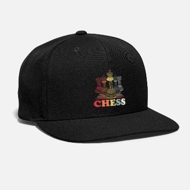 Checkmate Chess Checkmate Game Strategy Match King Queen - Snap-back Baseball Cap