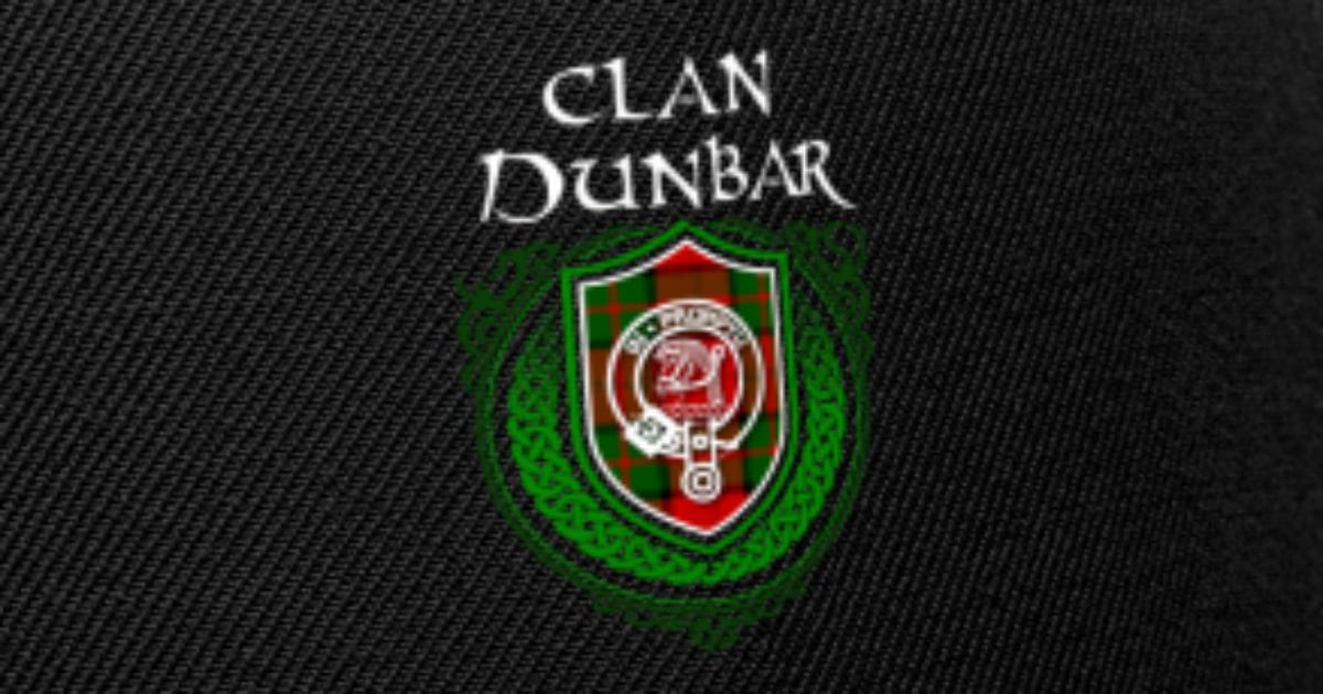Dunbar Surname Scottish Clan Tartan Crest Badge Snapback Cap | Spreadshirt