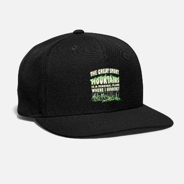 Smoky The Great Smoky Mountain - Snapback Cap