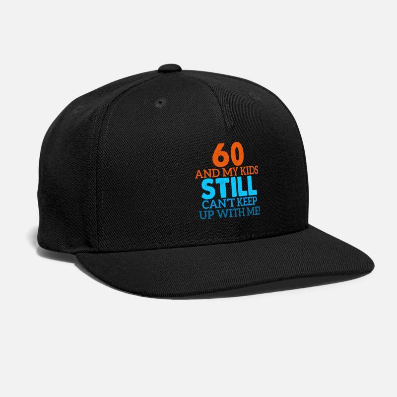 60th Birthday Gift Snapback Cap