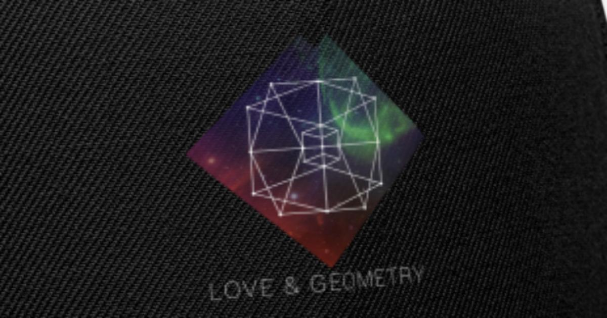 Sacred Geometry - Love And Geometry Snapback Cap | Spreadshirt