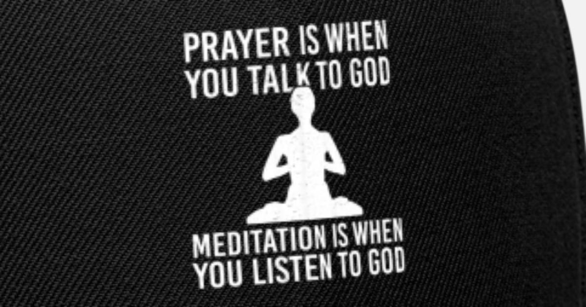 Meditation Meditation Yoga Breathing Breathing Bre Snapback Cap |  Spreadshirt