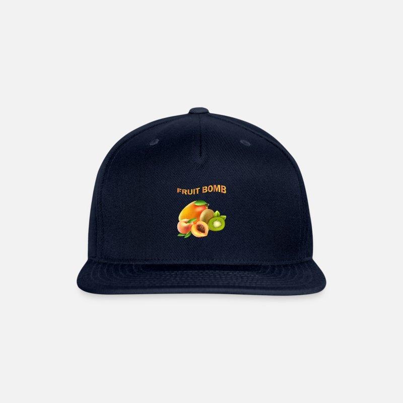 Classic Comfortable Kiwifruit and Papaya Adjustable Baseball Cap