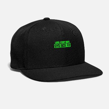 Game Internet Meme Long Story Short - Snapback Cap