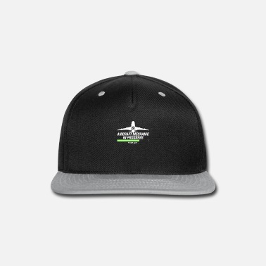 Noise Aircraft Mechanic | Maintenance Aviation - Snapback Cap