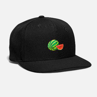 Health Retro Vintage Grunge Style Watermelon - Snap-back Baseball Cap
