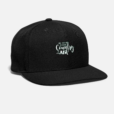 Country Country - Snapback Cap