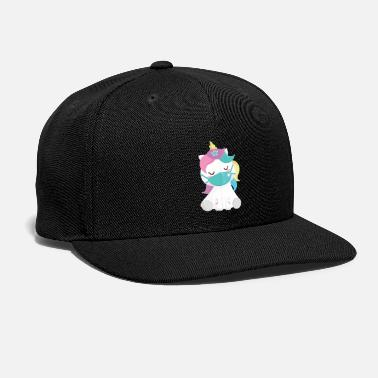 Mask unicorn face mask unicornsUnicorn Face Mask - Snapback Cap