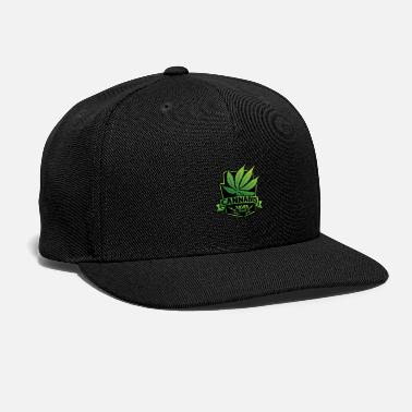 Cannabis Cannabis Saves Lives - Snap-back Baseball Cap