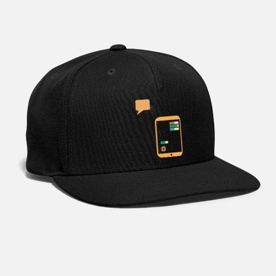 Journalist Caps - sharing information - Snapback Cap black