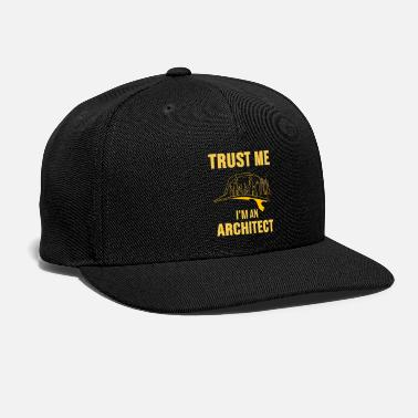 House Building Architect Shirt Architecture House Building Gift - Snapback Cap