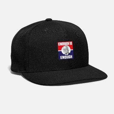 African American College Bernie Sanders 2020 Enough is Enough graphic - Snapback Cap